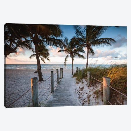 Beach Sunrise, Key West I Canvas Print #TEO824} by Matteo Colombo Canvas Art Print