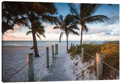 Beach Sunrise, Key West I Canvas Art Print