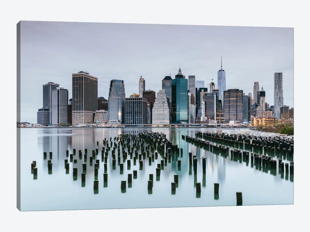 Skyline, Lower Manhattan, New York City, New York, USA by Matteo Colombo 1-piece Canvas Artwork