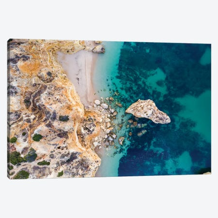 Algarve Coastline, Portugal Canvas Print #TEO835} by Matteo Colombo Canvas Artwork