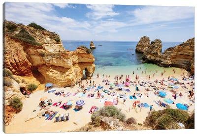 At The Beach, Portugal Canvas Art Print