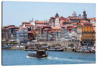 Summer In Porto Canvas Art Print