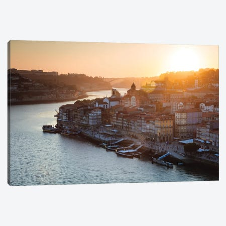 Sunset In Porto Canvas Print #TEO845} by Matteo Colombo Canvas Art Print