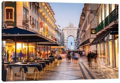 Lisbon Nights Canvas Art Print
