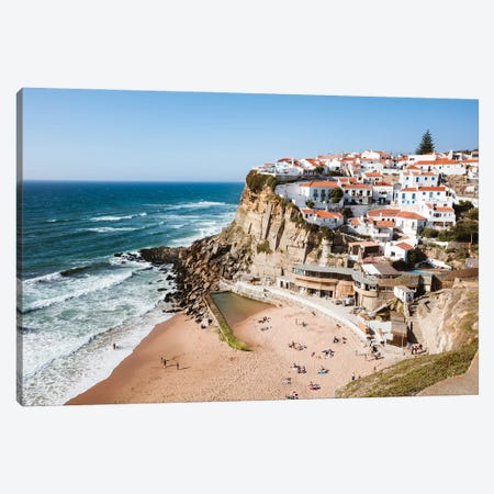 Fishing Village, Portugal Canvas Print #TEO850} by Matteo Colombo Canvas Art Print