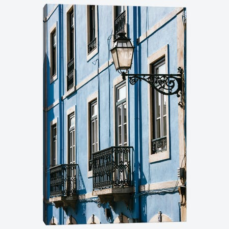 Portuguese Houses Canvas Print #TEO853} by Matteo Colombo Art Print