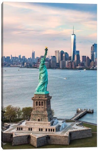 Statue Of Liberty, New York City, New York, USA Canvas Art Print