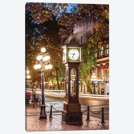 Gastown, Vancouver Canvas Print #TEO864} by Matteo Colombo Canvas Print