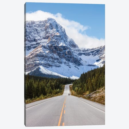 Icefields Parkway Canvas Print #TEO875} by Matteo Colombo Canvas Artwork