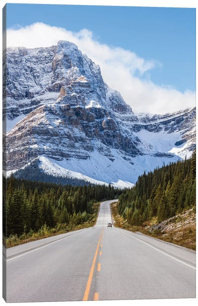 Icefields Parkway Canvas Art Print