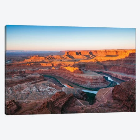 Sunrise, Dead Horse Point State Park, Utah, USA Canvas Print #TEO87} by Matteo Colombo Canvas Print