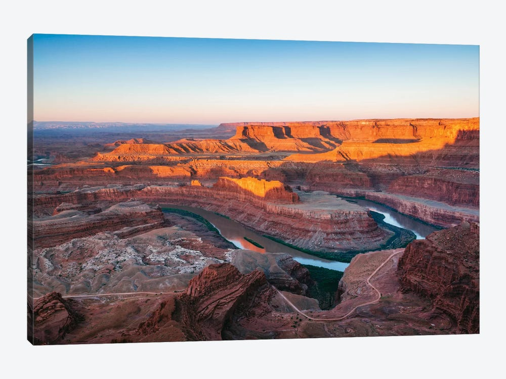 Sunrise, Dead Horse Point State Park, Utah, USA by Matteo Colombo 1-piece Canvas Art Print