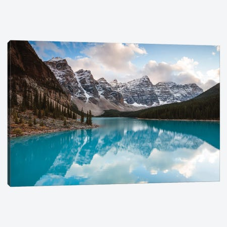 Autumn In The Canadian Rockies Canvas Print #TEO882} by Matteo Colombo Canvas Art