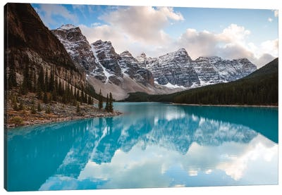 Autumn In The Canadian Rockies Canvas Art Print