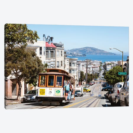 In The Streets Of San Francisco Canvas Print #TEO887} by Matteo Colombo Canvas Print