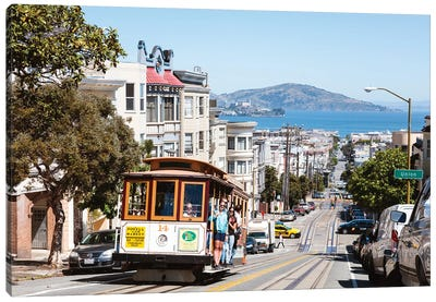 In The Streets Of San Francisco Canvas Art Print
