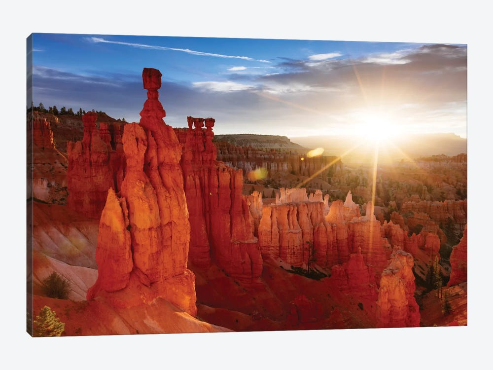 Sunrise, Thor's Hammer, Bryce Canyon National Park, Utah, USA by Matteo Colombo 1-piece Canvas Artwork
