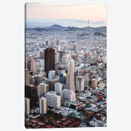 San Francisco Business District Canvas Print #TEO891} by Matteo Colombo Canvas Art Print