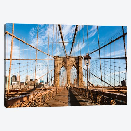 Brooklyn Bridge Canvas Print #TEO895} by Matteo Colombo Canvas Art