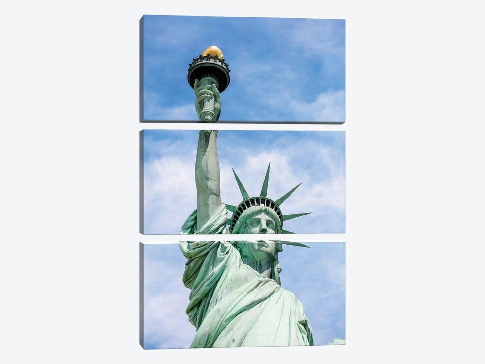 Lady Liberty by Matteo Colombo 3-piece Canvas Artwork