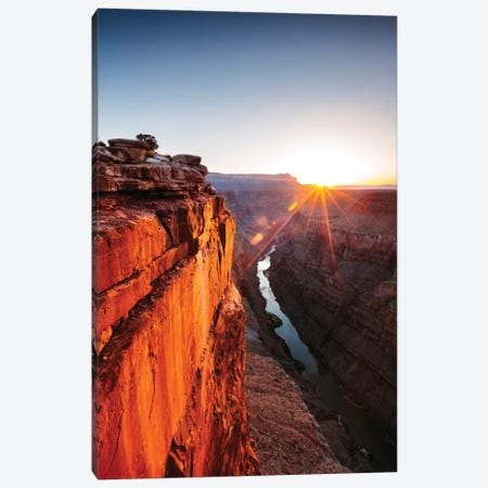 Sunrise, Toroweap Point, North Rim, Grand Canyon National Park, Arizona, USA Canvas Print #TEO89} by Matteo Colombo Canvas Art