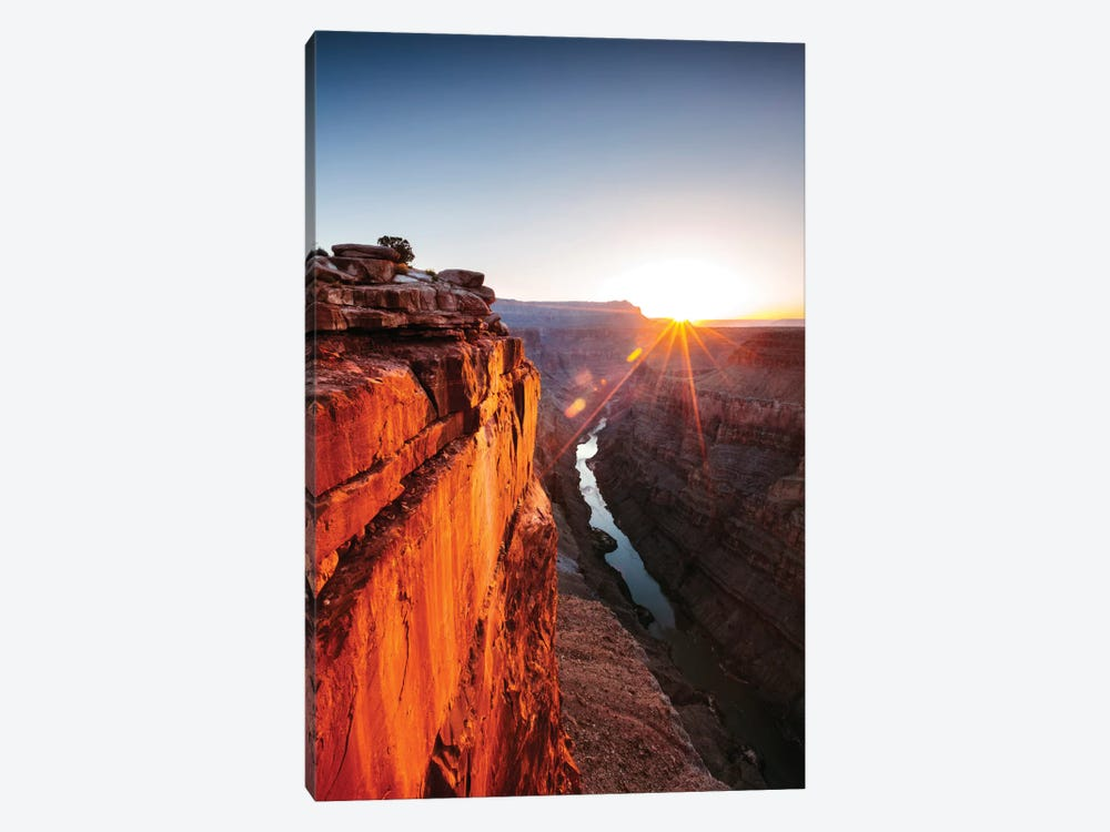 Sunrise, Toroweap Point, North Rim, Grand Canyon National Park, Arizona, USA by Matteo Colombo 1-piece Canvas Art Print