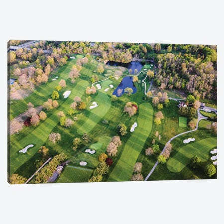 Golf Course In New York Canvas Print #TEO908} by Matteo Colombo Canvas Art Print