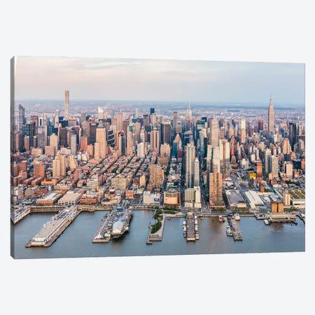 Midtown Manhattan Aerial Canvas Print #TEO909} by Matteo Colombo Art Print