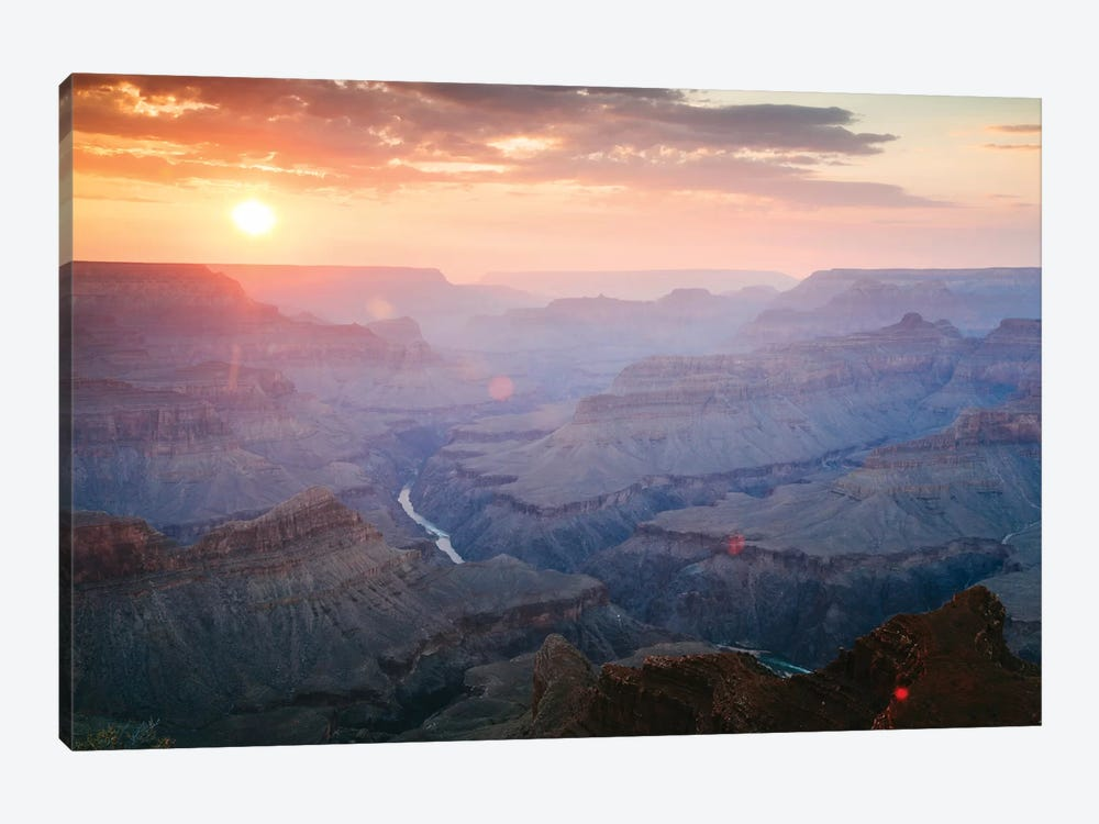 Sunset As Seen Mohave Point, South Rim, Grand Canyon National Park, Arizona, USA by Matteo Colombo 1-piece Canvas Print