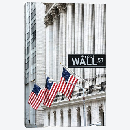 Wall Street Canvas Print #TEO911} by Matteo Colombo Canvas Artwork