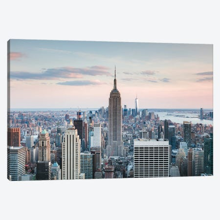 Iconic New York I Canvas Print #TEO912} by Matteo Colombo Canvas Art