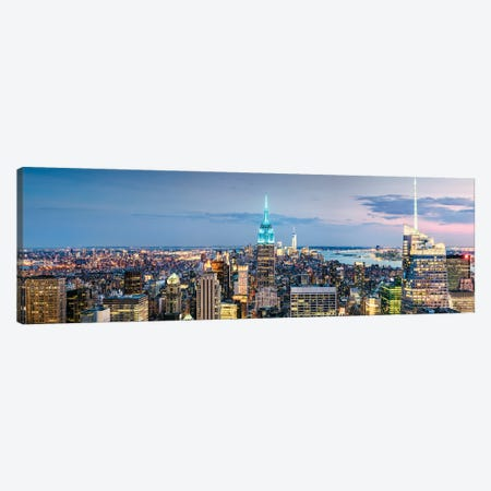 Iconic New York II Canvas Print #TEO913} by Matteo Colombo Canvas Artwork