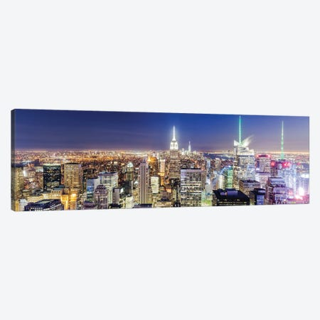 Iconic New York III Canvas Print #TEO917} by Matteo Colombo Art Print