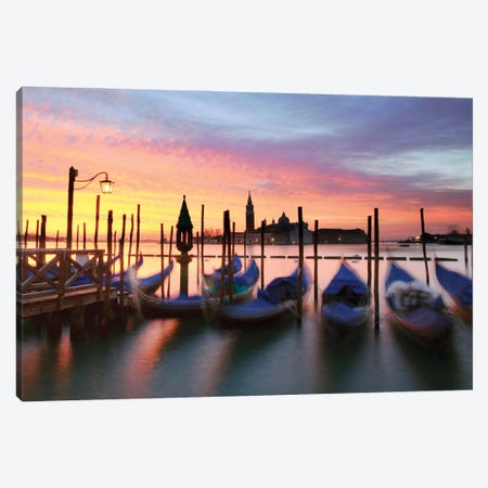 Winter In Venice Canvas Print #TEO922} by Matteo Colombo Canvas Art Print