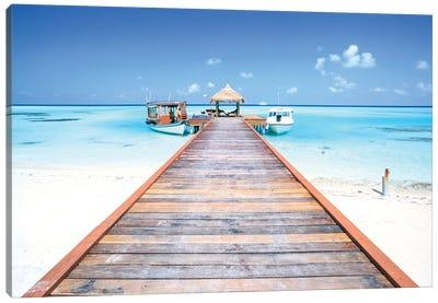 Destination Maldives Canvas Art Print