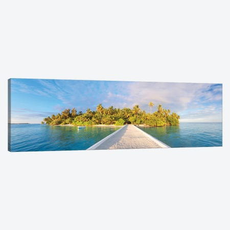 Tropical Island Canvas Print #TEO928} by Matteo Colombo Art Print