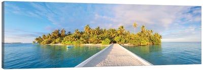 Tropical Island Canvas Art Print