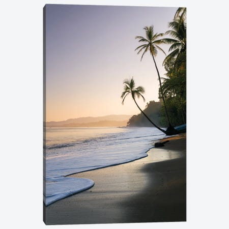Sunset At The Beach, Bahia Drake, Osa Peninsula, Costa Rica Canvas Print #TEO92} by Matteo Colombo Canvas Art Print