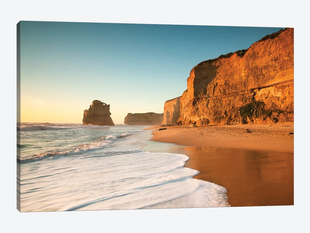 Sunset At The Great Ocean Road by Matteo Colombo 1-piece Canvas Art