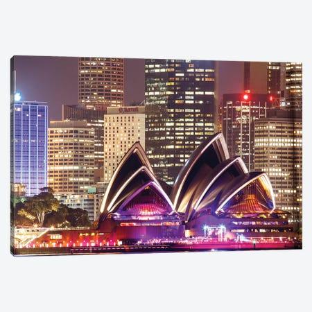 Sydney Opera House Canvas Print #TEO940} by Matteo Colombo Canvas Print