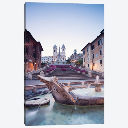 Piazza Di Spagna, Rome I Canvas Print #TEO945} by Matteo Colombo Canvas Artwork