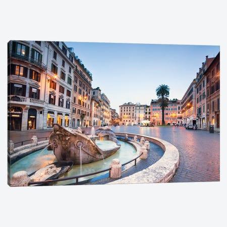 Piazza Di Spagna, Rome II Canvas Print #TEO946} by Matteo Colombo Canvas Artwork