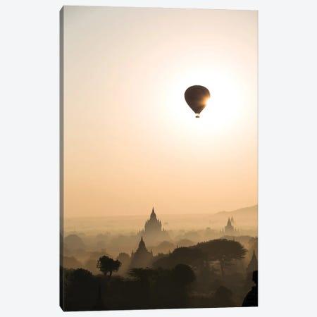 Sunrise Over Bagan, Myanmar Canvas Print #TEO955} by Matteo Colombo Art Print
