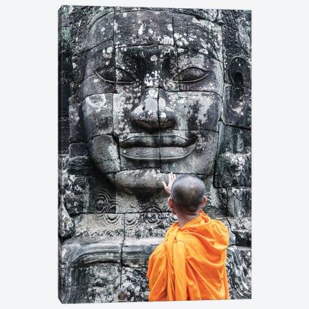 Monk, Angkor Wat I Canvas Print #TEO960} by Matteo Colombo Art Print