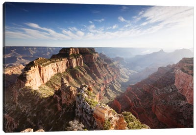 Sunset, Cape Royal, Grand Canyon National Park, Arizona, USA Canvas Print #TEO96