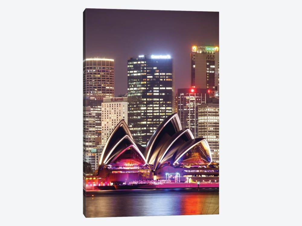 Sydney Opera House At Night, Sydney, New South Wales, Australia by Matteo Colombo 1-piece Canvas Artwork