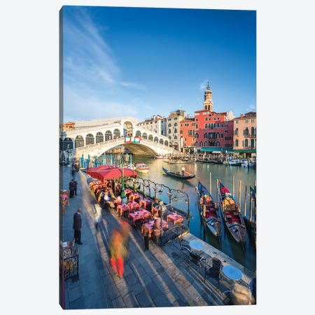 Romantic Venice I Canvas Print #TEO982} by Matteo Colombo Art Print