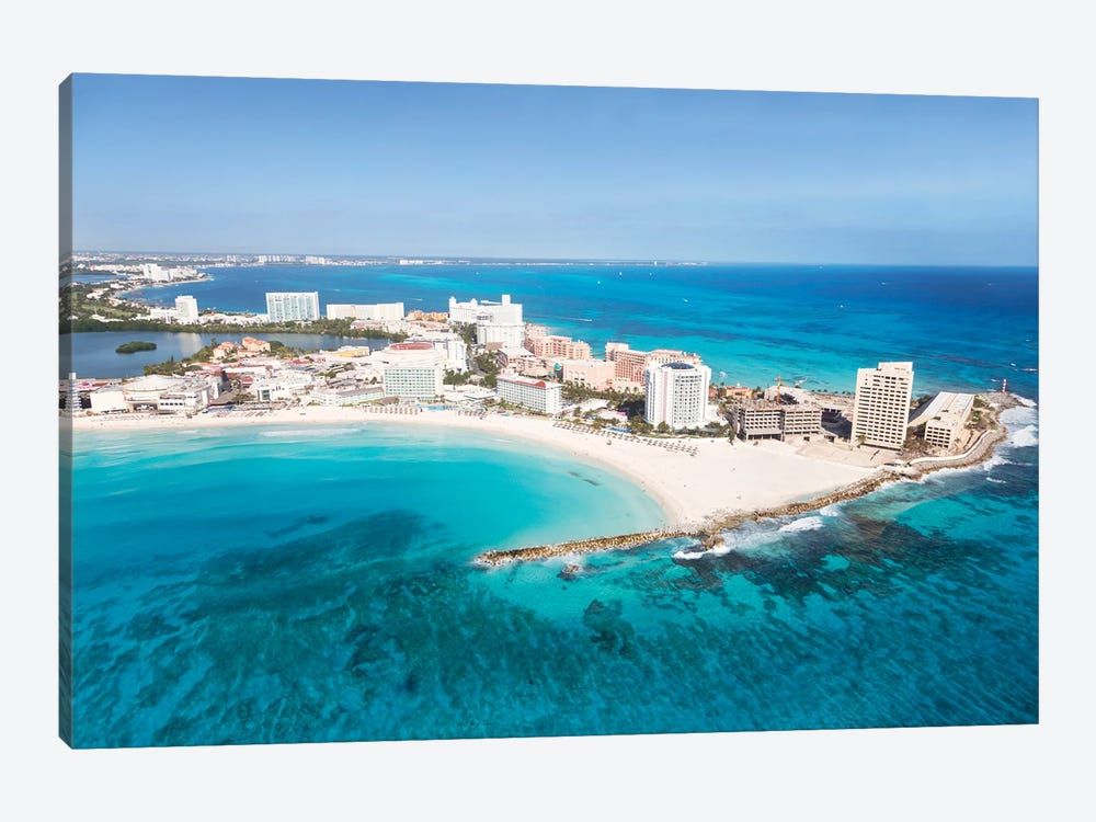 Cancun From The Air I by Matteo Colombo 1-piece Canvas Art