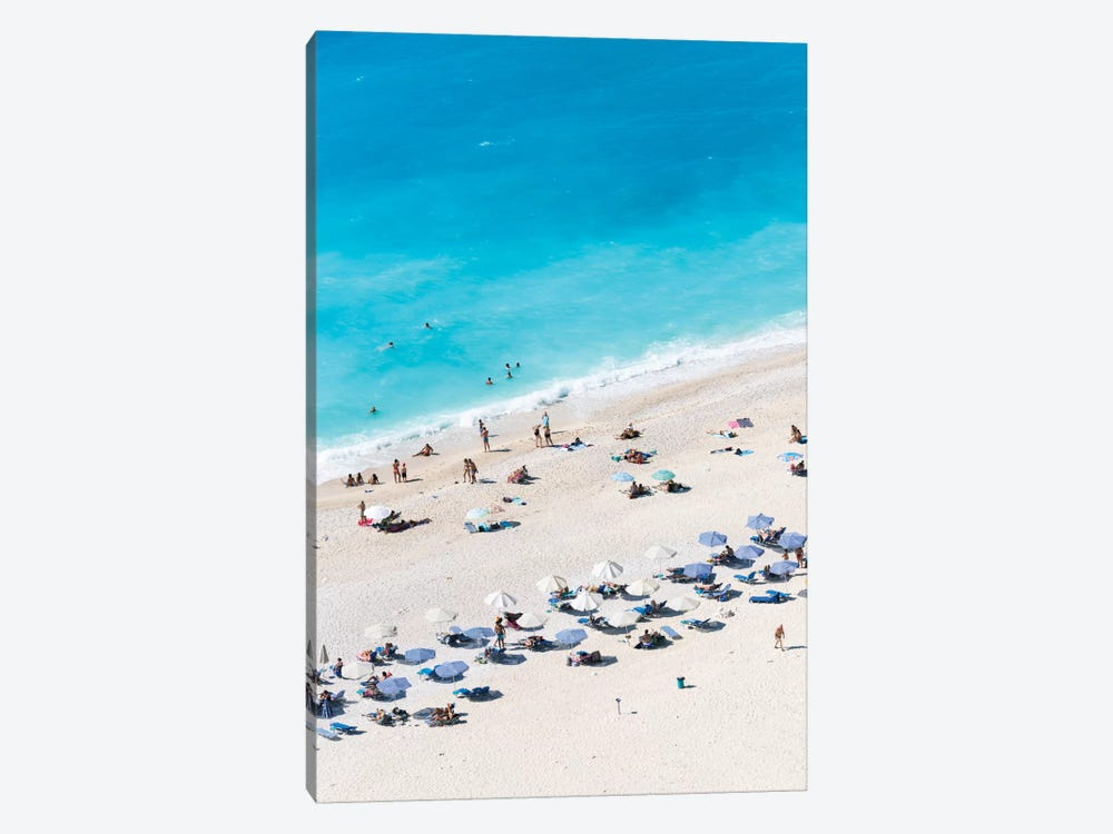 Aerial View Of Myrtos Beach VII, Cephalonia, Ionian Islands, Greece by Matteo Colombo 1-piece Canvas Art Print