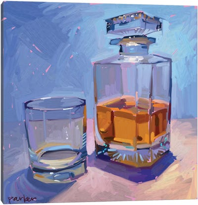 Highball And Glasses Canvas Art Print